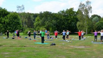 Pilates am Wewerka-Pavillon