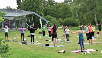 Pilates am Wewerka-Pavillon